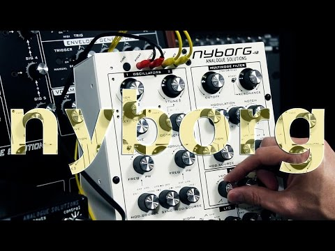 Analogue Solutions Nyborg-12 Analogue Synthesizer Demo Part 1