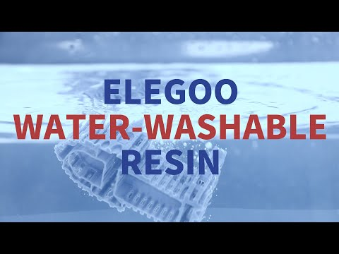 Meet ELEGOO Water Washable Resin! 🌊 (#GIVEAWAY)