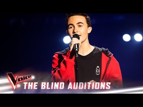 The Blind Auditions: Oliver Cuthbert sings 'Firestone' | The Voice Australia 2019