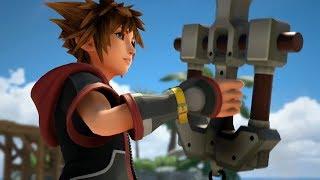Kingdom Hearts III TGS 2018 vs E3 2013 Graphics Comparison - Massive Improvement (PS4/Xbox One)