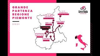 The giro d'italia 2021 will start from…. piemonte❗, 8/05 - stage 1: torino tissot itt, 9 km, 9/05 2: stupinigi (nichelino) novara, 173 10/05 3: biella canale, 187 km