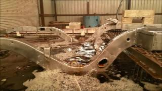 Rust Removal: Ford Galaxie Frame
