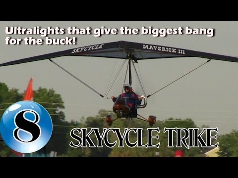 SkyCycle Ultralight Trike - 12 Ultralight Aircraft that give the biggest bang for the buck!