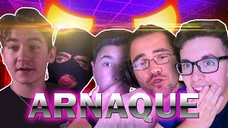 MAOUNO vous ARNAQUE + AZULEK, LA CAGOULE, THEFRAGHD, YXIX