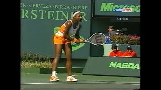 Serena Williams vs Marion Bartoli Miami 2003 (2.Set partly)