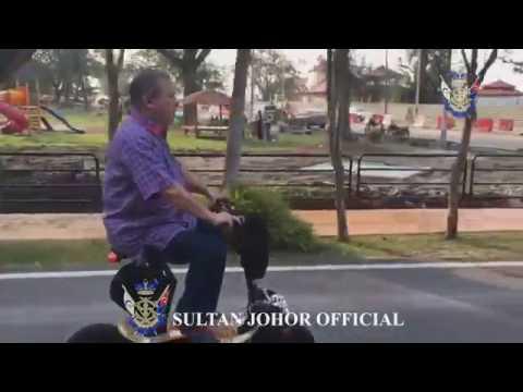 Sultan of Johor : Dataran Tanjung Emas, Bandar DiRaja Muar, 26 Aug 2016.