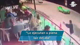 La víctima se encontraba conviviendo con su novia y unos amigos cuando un sujeto se acercó y le disparó en la cabeza