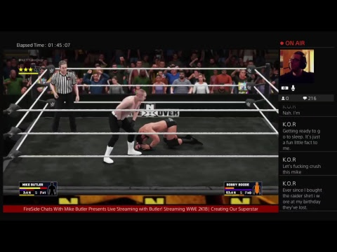 FireSide Chats: WWE 2K18|Creating Our Superstar