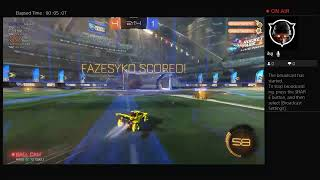 Running duo on Rocket League with FazeSyko!!