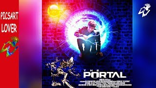 PICSART MOBILE KI PIC SE MOVIE POSTER THE PORTAL EASY MANIPULATION LIKE PHOTOSHOP EDITING IN MOBILE