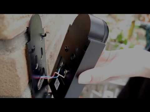 Chuango WDB-70 Doorbell Installation Video