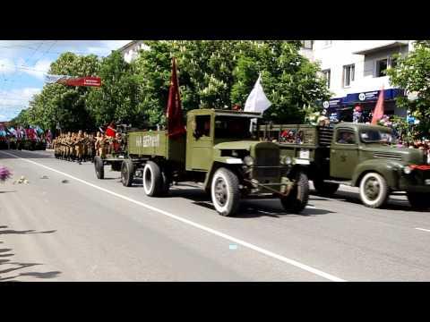 Парад Победы в Симферополе 9 мая 2015