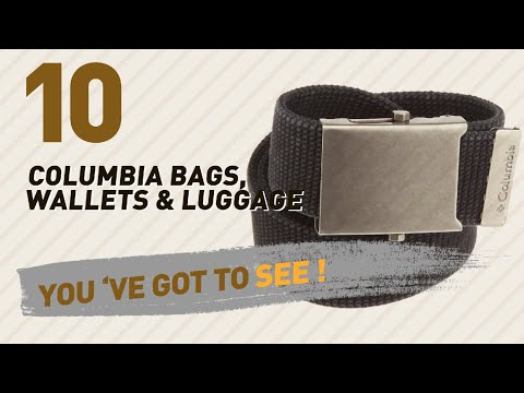 Columbia Bags, Wallets & Luggage Collection // Amazon India 2017 Best Sellers