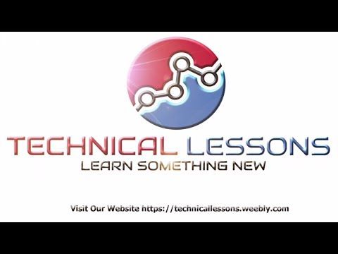 Technical Lessons Intro Reveal