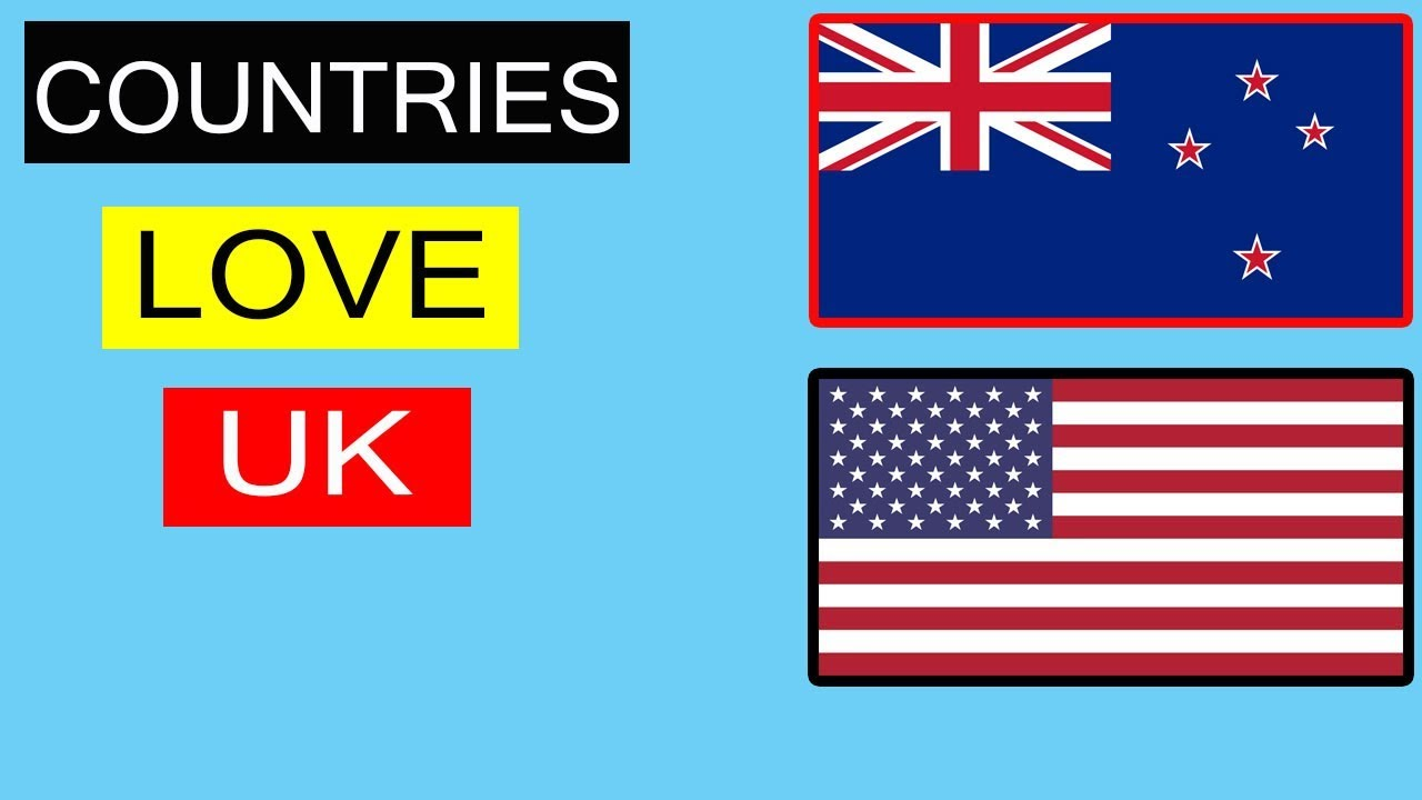 ??Top 10 countries that love United kingdom?? | Allies Of UK