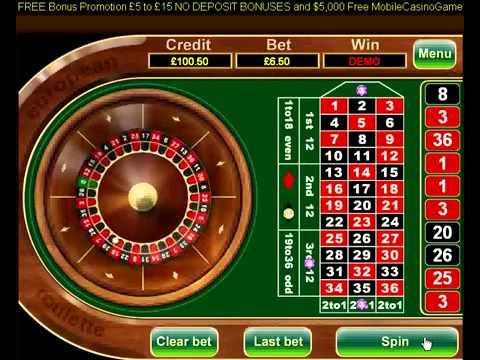 European roulette free bonus non remunerative deposits