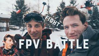 Cinematic FPV Battle