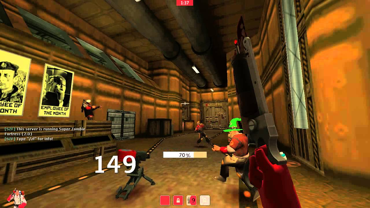 tf2 zombie fortress servers