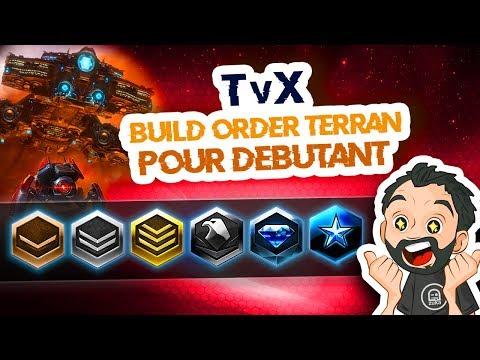 StarCraft 2 - TvX - Build Order Terran Mech Pour DEBUTANT ! Vers La Ligue Maitre ! [FR]