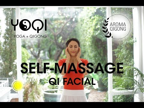 QI FACIAL:  Self-facial massage with qigong