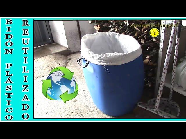 BIDONES DE PLASTICO (tips para reutilizar)
