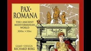 Pax Romana - GMT Games - Component Overview and Discussion