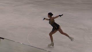 Alina Zagitova GP France 2019 fs Cleopatra Practice hq