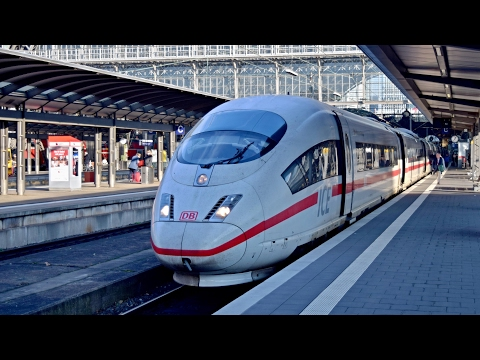 Züge Frankfurt am Main Hbf, 10.12.2016
