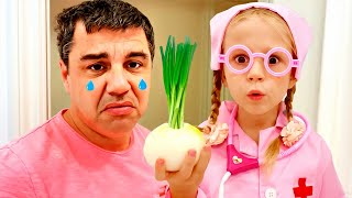 Nastya y sus días de cuarentena con papá