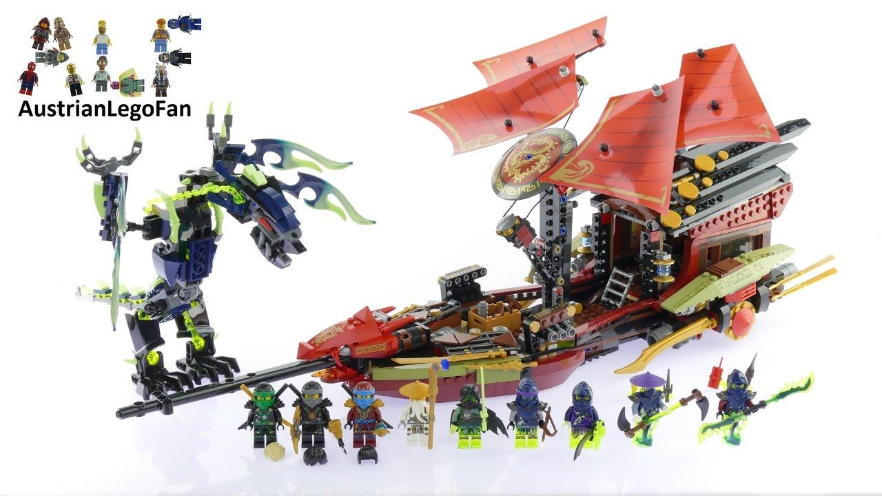 Lego Ninjago 70738 Final Flight Of Destinys Bounty Lego Speed