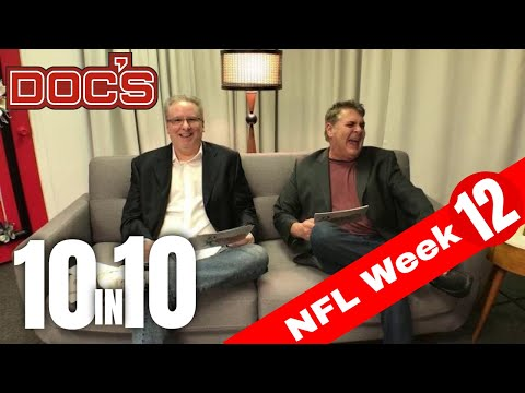 NFL Picks Week 12, Football Betting Analysis | The 10 IN 10 Show
