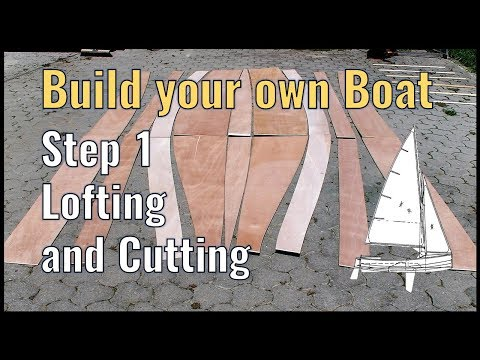 Wooden Boat Building Step 1: Lofting Boat Plans