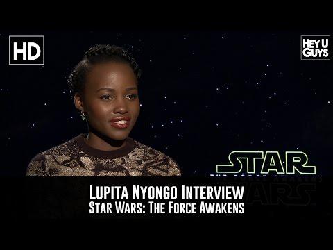Lupita Nyong'o Interview - Star Wars: The Force Awakens