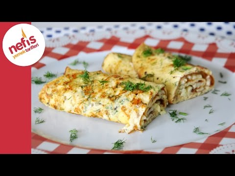 İki Peynirli Omlet Tarifi | Peynirli Omlet Yapımı | Nefis Yemek Tarifleri