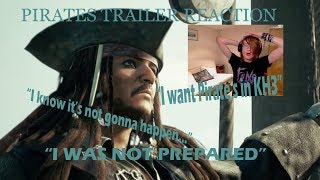 KINGDOM HEARTS 3 PIRATES OF THE CARIBBEAN TRAILER REACTION