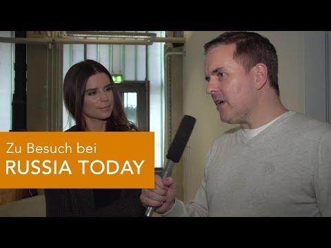 Zu Besuch bei RUSSIA TODAY