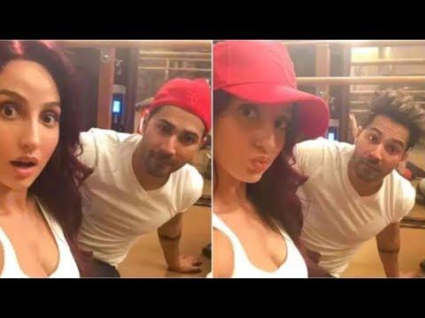 Varun Dhawan FUN TIME With His Dance Partner Nora Fatehi in London Behind The Scene Mp3