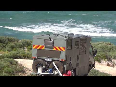 Offroad Motorhome Australia 4x4 RV Fishing Kangaroo