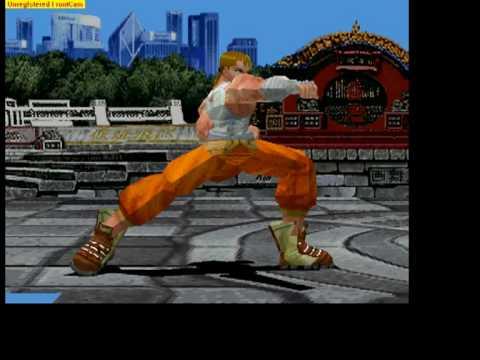 Virtual Hiryu no Ken - ALEPH fight