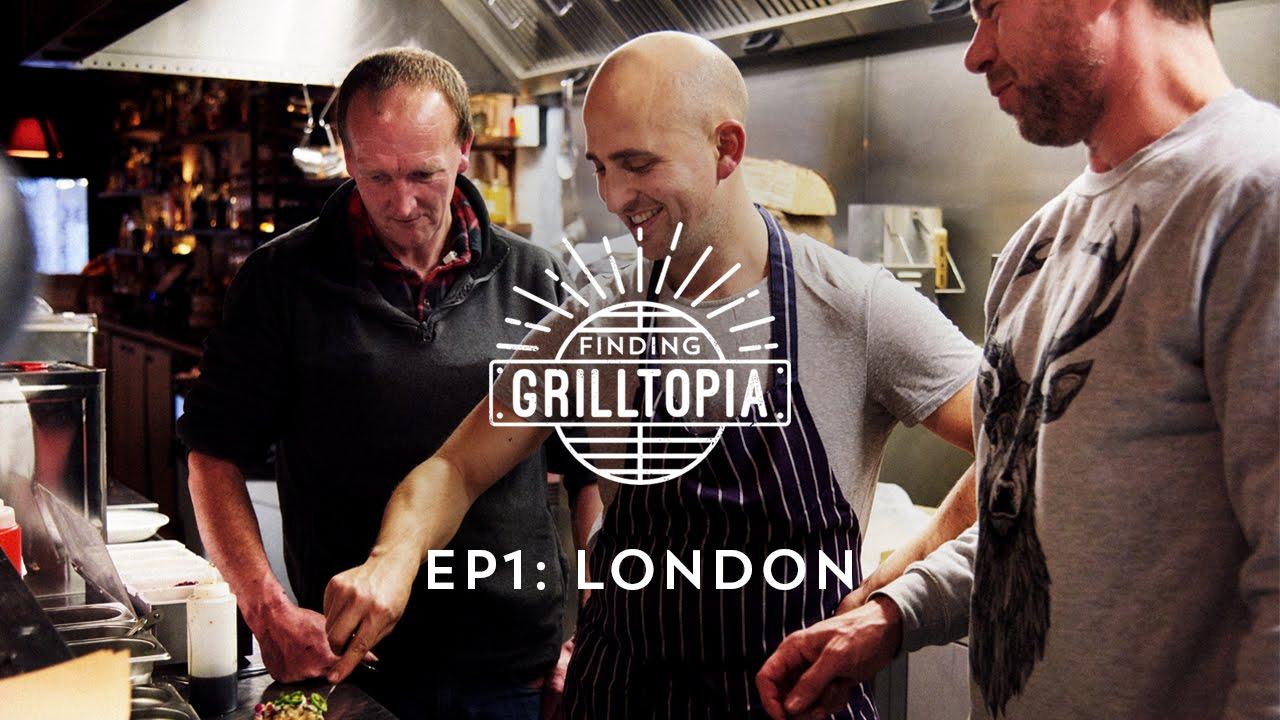 "Hellmann's & DJ BBQ: ""Finding Grilltopia"" Ep1 - London"