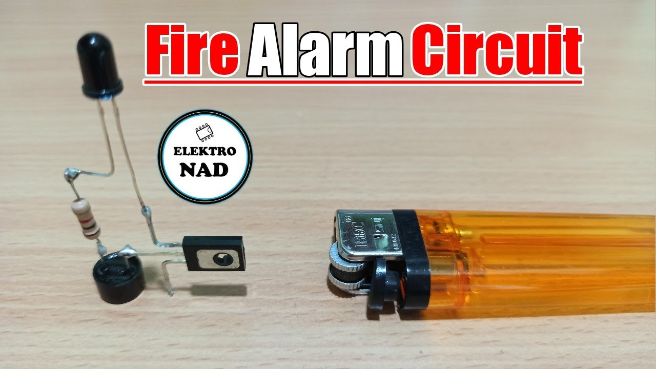 fire alarm circuit simple