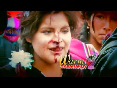 WOMEN FIGHT - TAKANAKUY - COSTUMBRES PERU 1/5