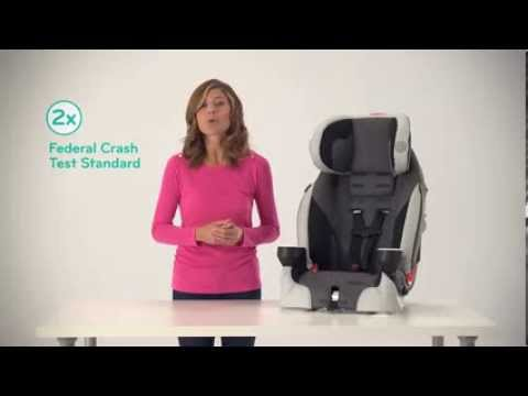 Evenflo Booster Seat >> Evenflo SecureKid™ DLX Harnessed Booster Seat - YouTube