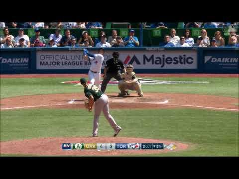Matt Chapman Defensive Highlights 2017 (Oakland Athletics)
