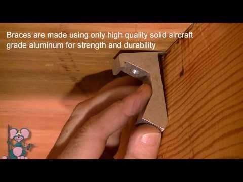 squeak-relief floor repair kit - the permanent cure for squeaky floors