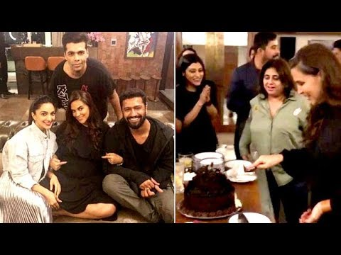 Neha Dhupia's Birthday Bash INSIDE Videos And Pictures