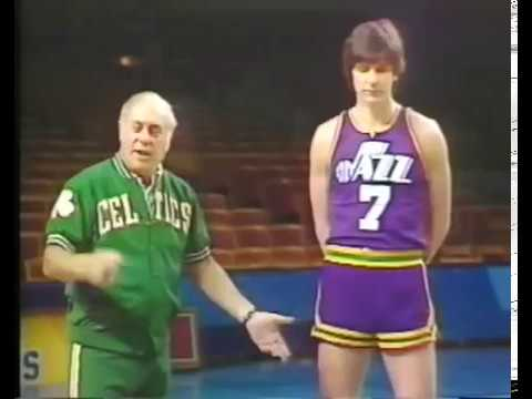 """Red on Roundball"" - Drills w/ Pistol Pete Maravich"