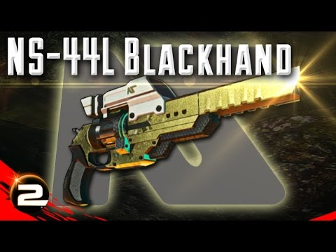 NS-44L Blackhand Review (Nanite Systems Revolver) - PlanetSide 2