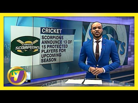 Jamaica Scorpions Name 13 of 15 Protected Players for Upcoming Season   TVJ Sports