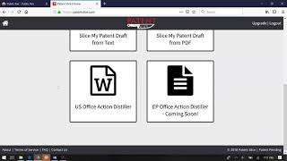 Learn how to generate a response frame to Office Action with PatentSlice.com Office Action Distiller